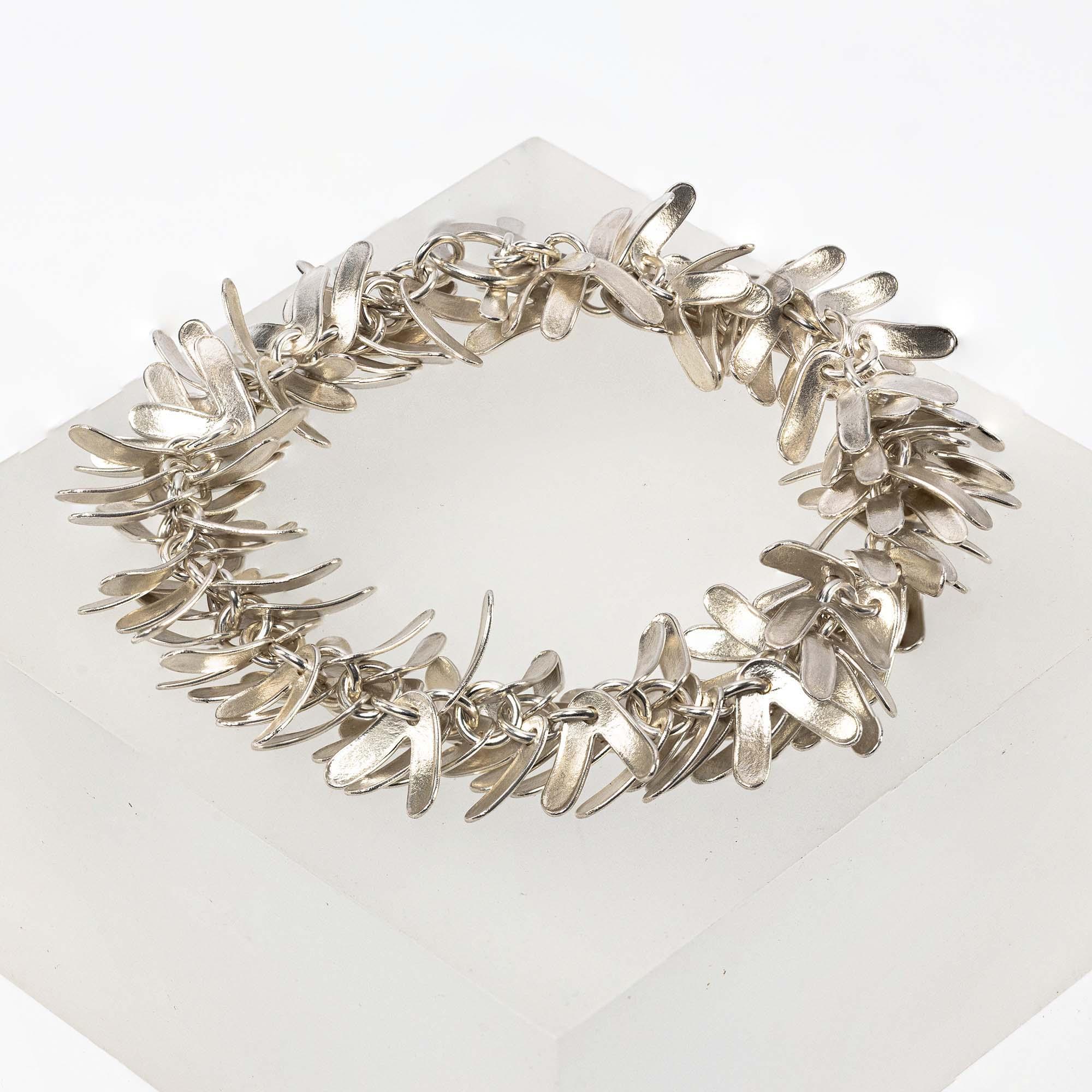 Glenn Campbell CAT-02 Catkin Bracelet 7.5 Inches £665