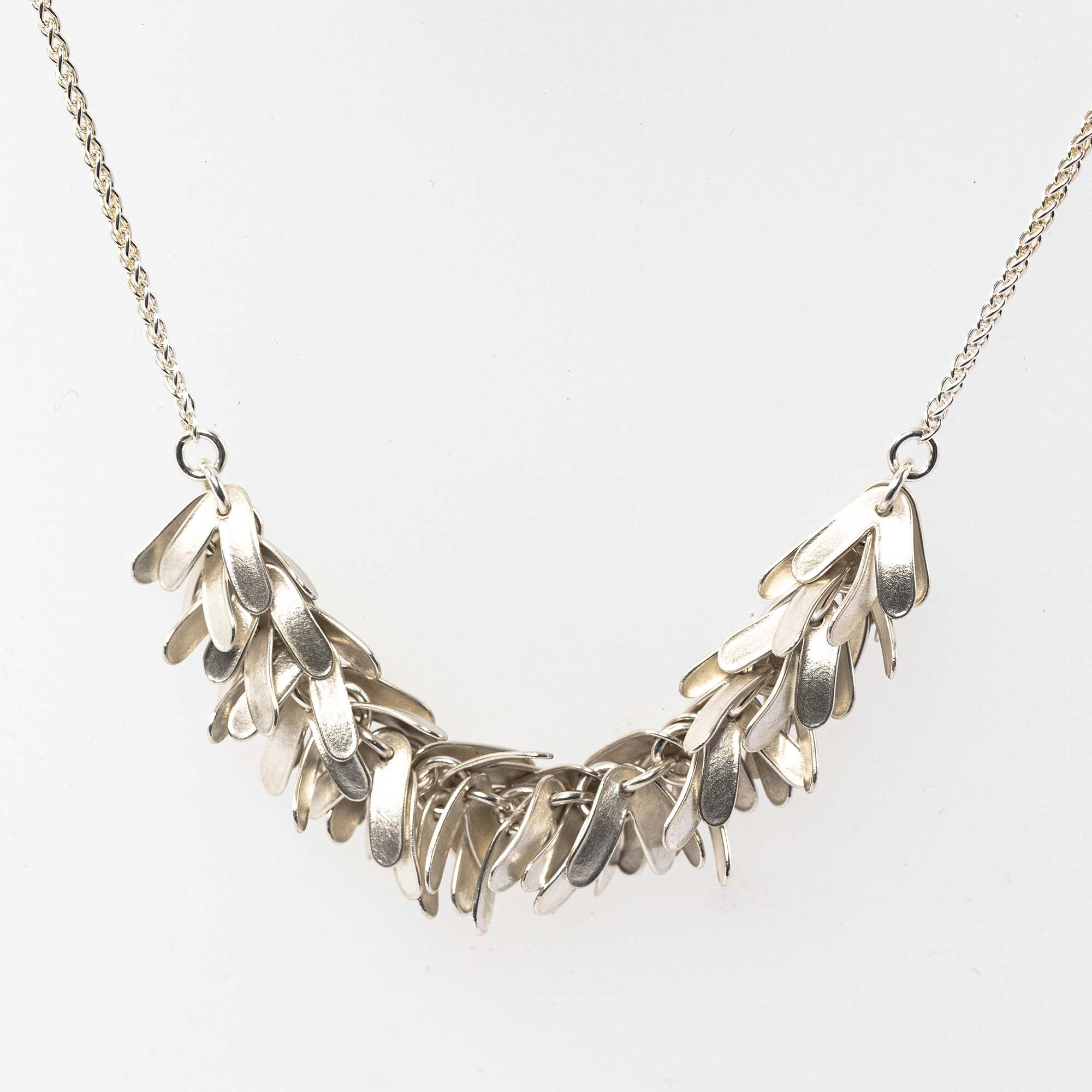 Glenn Campbell CAT-05 Catkin Necklace with Chain & T-bar links £260